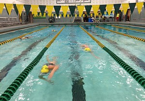 my swimming home..the UVM pool...